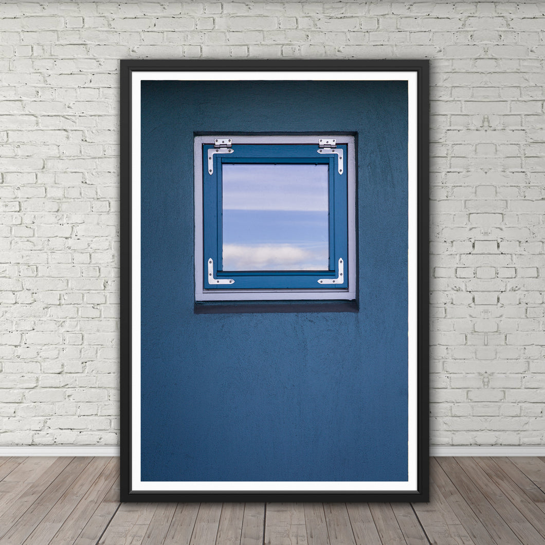 Reykjavík Window - Instant Printable Download