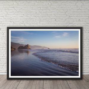 Lion Rock at Arcadia Beach - Instant Printable Download