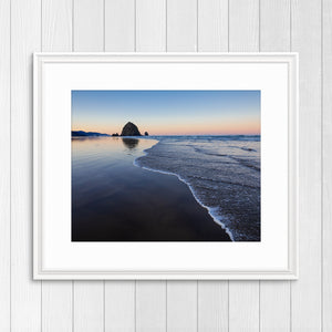 Haystack Rock at Sunrise - Prints and Wall Art
