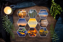 Load image into Gallery viewer, Aidyn Mid Collection of Hexagon Photo Prints
