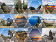 Load image into Gallery viewer, Arwyn Hexagon Calendar Collection