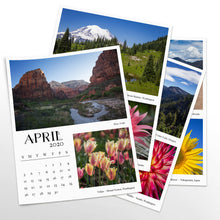 Load image into Gallery viewer, Duets 12 Month Calendar With Custom Start Date