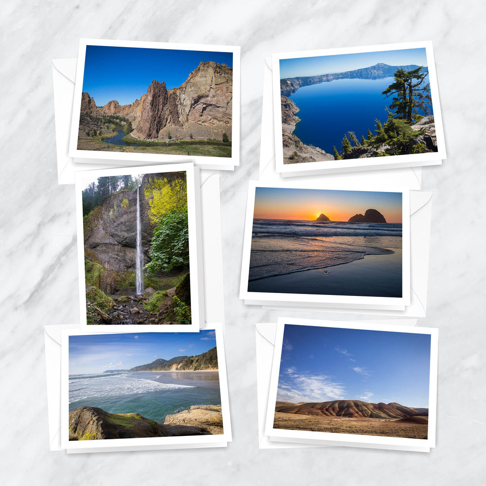 Exploring Oregon Notecards