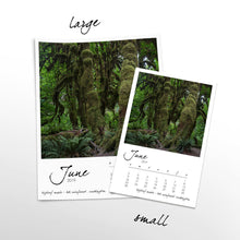 Load image into Gallery viewer, Fantastic Trees 12 Month Calendar With Custom Start Date