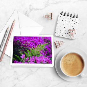 Fuchsia Filled Notecards