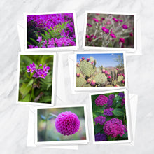 Load image into Gallery viewer, Fuchsia Filled Notecards