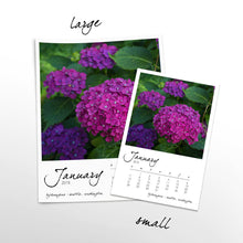 Load image into Gallery viewer, Fuchsia Filled 12 Month Calendar With Custom Start Date