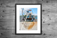 Load image into Gallery viewer, Kelsi Geometric Boat Bow Artwork Print