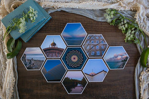 Maisie Mid Collection of Hexagon Photo Prints