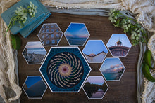 Load image into Gallery viewer, Maisie Mid Collection of Hexagon Photo Prints