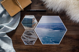 Perri Mini Collection of Hexagon Photo Prints
