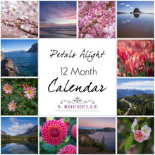 Load image into Gallery viewer, Petals Alight 12 Month Calendar With Custom Start Date