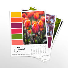 Load image into Gallery viewer, Prismatic 12 Month Calendar With Custom Start Date