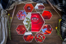 Load image into Gallery viewer, Rory Mid Collection of Hexagon Photo Prints
