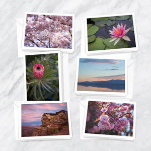 Springtime Blush Notecards