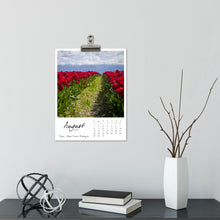 Load image into Gallery viewer, Tulip Traditions 12 Month Calendar With Custom Start Date