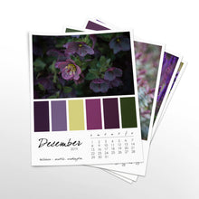 Load image into Gallery viewer, Violaceous 12 Month Calendar With Custom Start Date