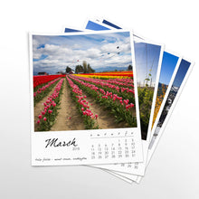 Load image into Gallery viewer, Wandering Washington 12 Month Calendar With Custom Start Date