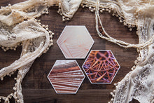 Load image into Gallery viewer, Zarin Mini Collection of Hexagon Photo Prints