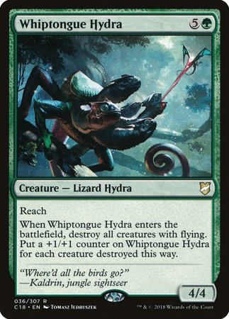 Whiptongue Hydra [Commander 2018] | Gopher Mafia Games