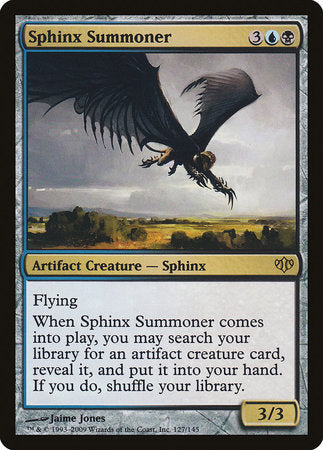 Sphinx Summoner [Conflux] | Gopher Mafia Games
