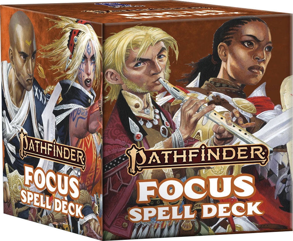 Pathfinder Spell Cards: Focus | Gopher Mafia Games