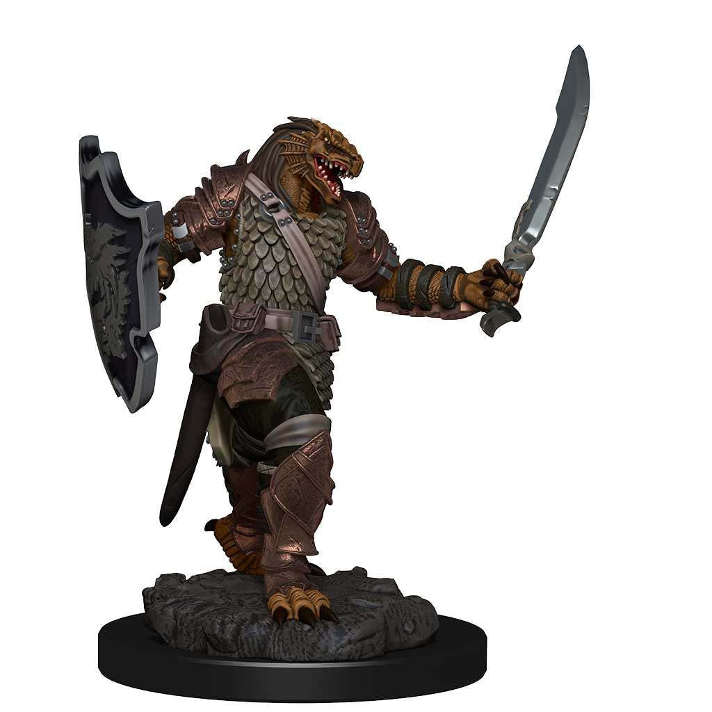 D&D Icons of the Realms Premium Miniatures: Dragonborn Female Paladin | Gopher Mafia Games