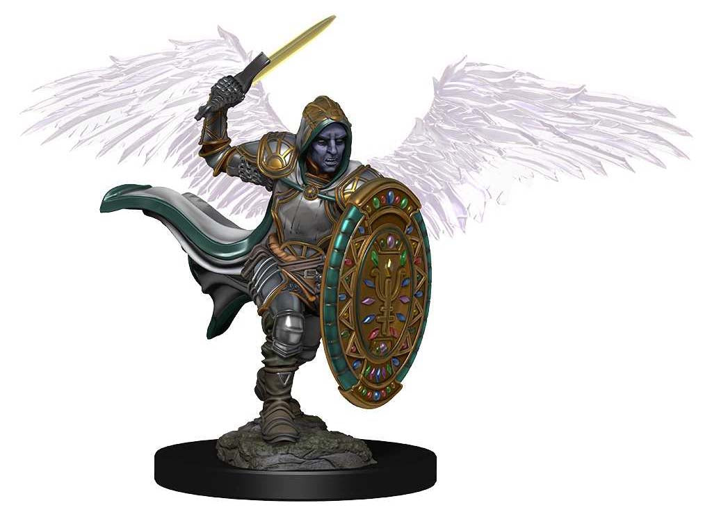 D&D Icons of the Realms Premium Miniatures: Aasimar Male Paladin | Gopher Mafia Games