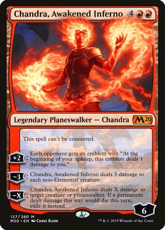 Chandra, Awakened Inferno [Core Set 2020] | Gopher Mafia Games