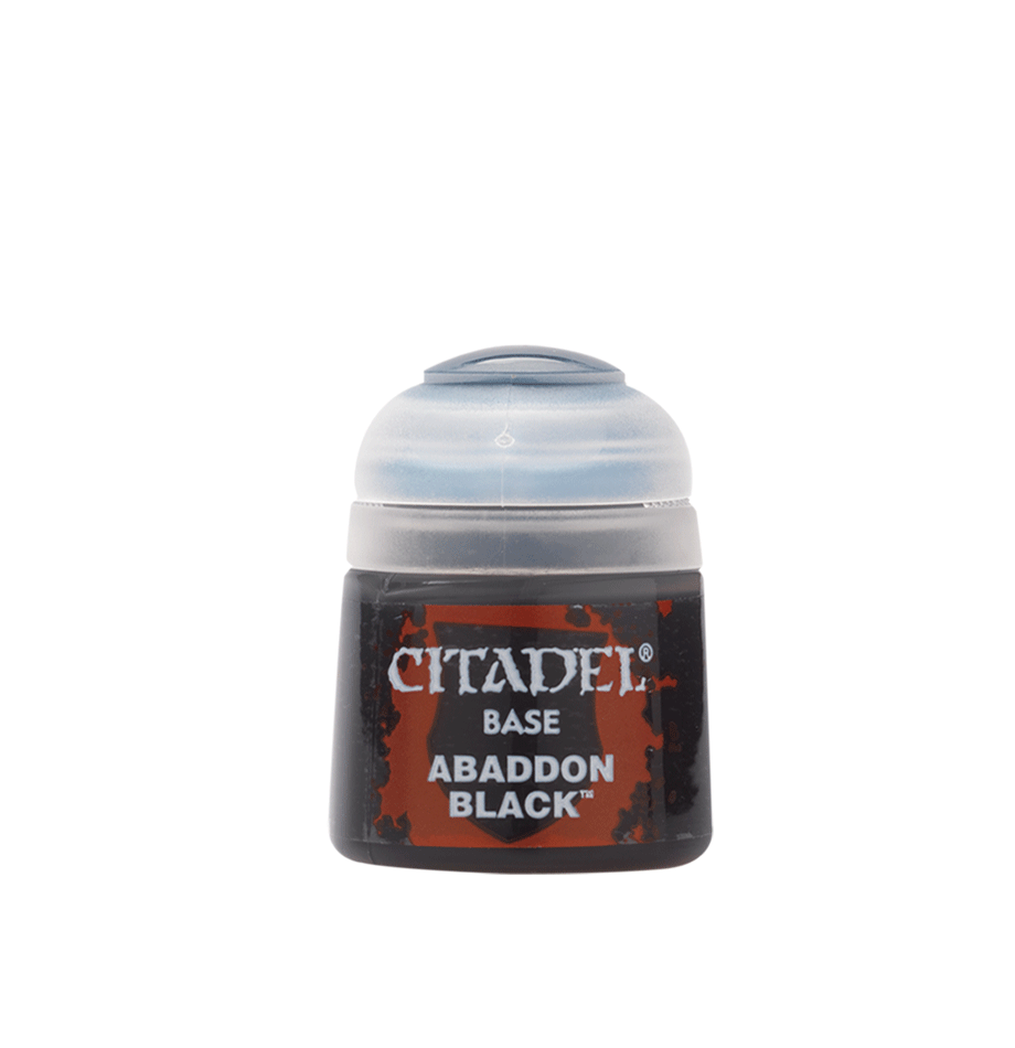 Citadel Base Paint: Abaddon Black | Gopher Mafia Games