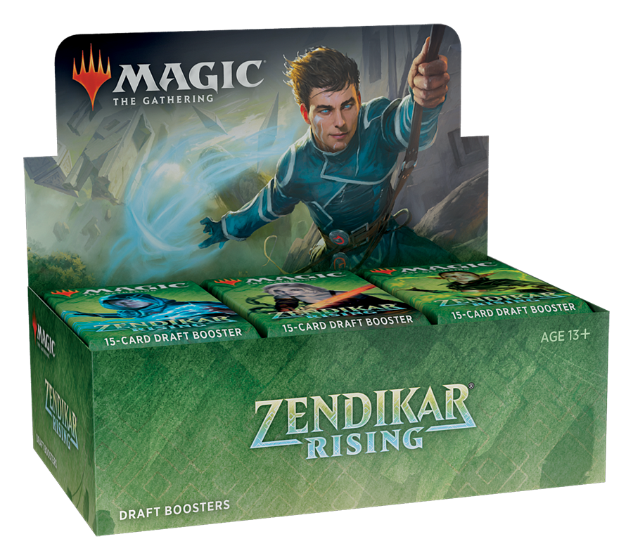 Zendikar Rising Draft Booster Box | Gopher Mafia Games