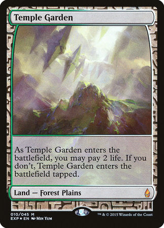 Temple Garden [Zendikar Expeditions] | Gopher Mafia Games