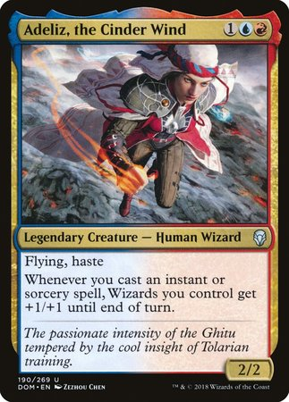 Adeliz, the Cinder Wind [Dominaria] | Gopher Mafia Games