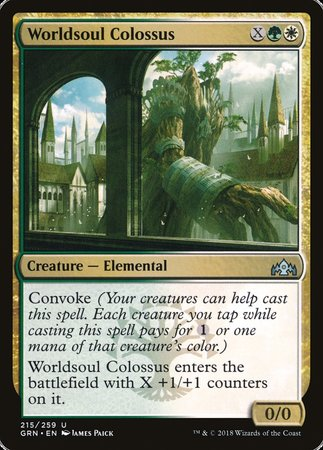 Worldsoul Colossus [Guilds of Ravnica] | Gopher Mafia Games