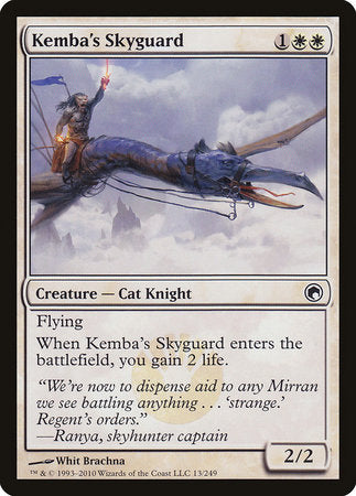 Kemba's Skyguard [Scars of Mirrodin] | Gopher Mafia Games