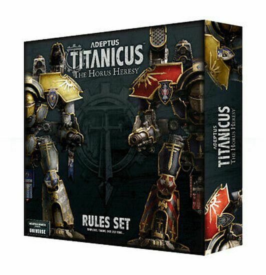 Adeptus Titanicus: The Horus Heresy Rules Set | Gopher Mafia Games