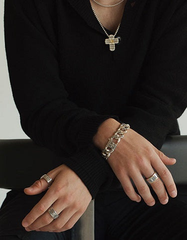 konstantino mens bracelets and pendant