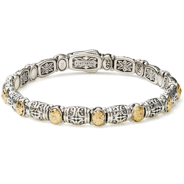 Konstantino Women's Sterling Silver & Dotted Clasp Bracelet