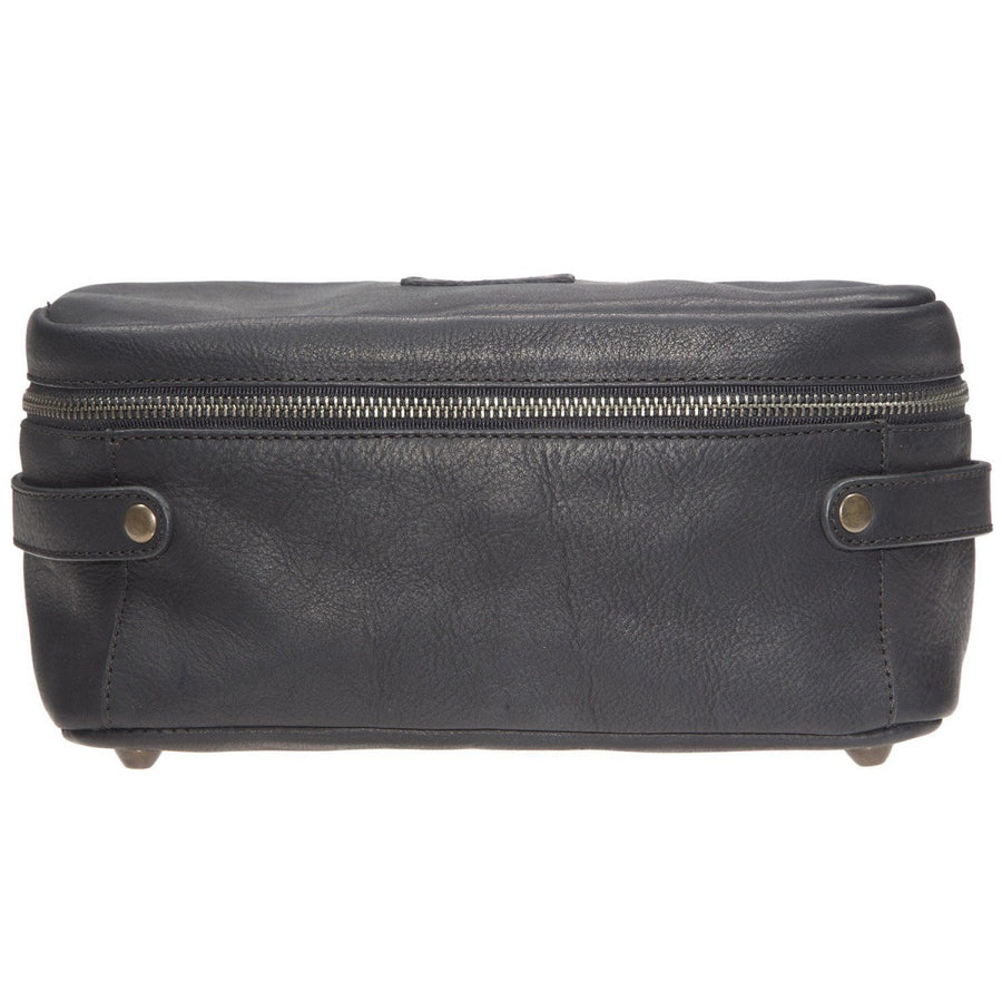 Will Leather Goods Desmond Leather Travel Case, Black