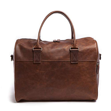 Moore and Giles Booker Cabin Duffel in Brown Baldwin Oak Leather - upscaleman.myshopify.com