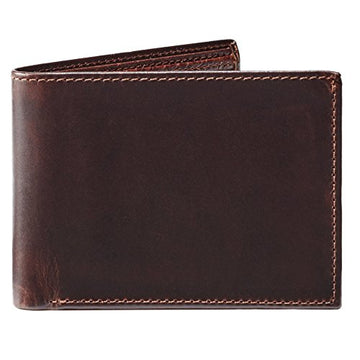Moore and Giles BI-FOLD Wallet Brompton - Brown Leather - upscaleman.myshopify.com