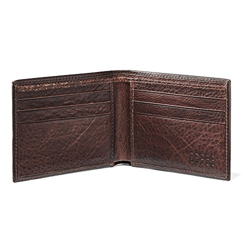 Moore and Giles BI-FOLD Wallet Brompton - Brown Leather