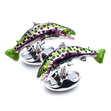 Deakin and Francis Men's Trout Fish Cufflinks