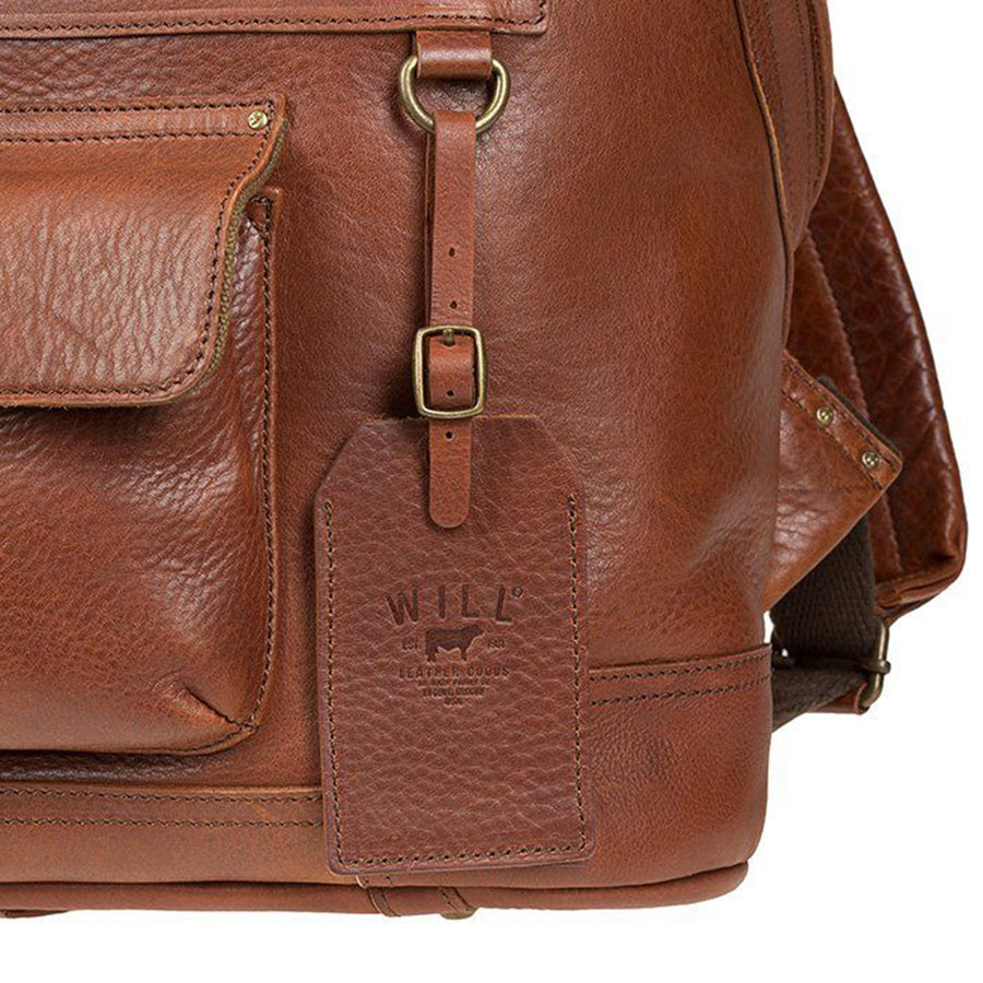 Will Leather Goods Silas Backpack with 13