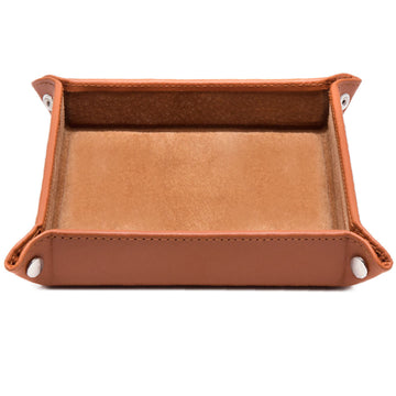 Ettinger Lifestyle Collection Leather Travel Tray Tan