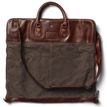 Moore and Giles Gravely Garment Bag Waxwear Rangertan - upscaleman.myshopify.com