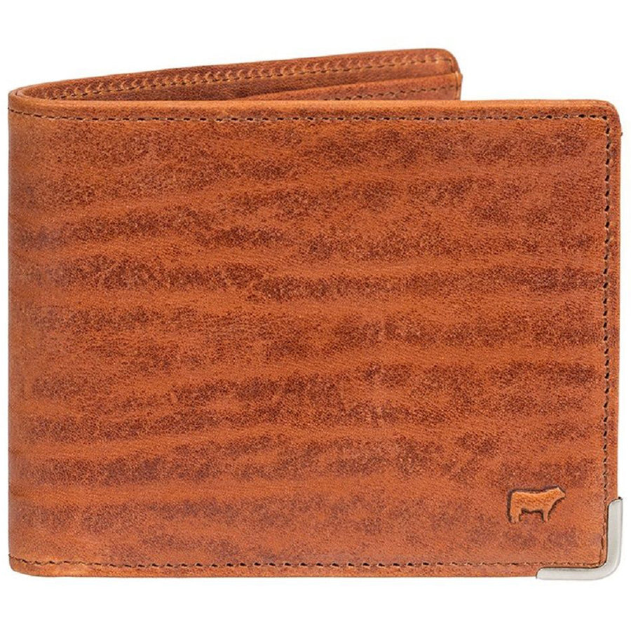 Will Leather Goods The Magnate Leather Billfold, Cognac Brown