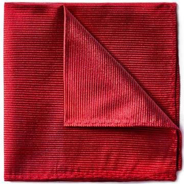 Bruno Piattelli Silk Designer Pocket Square, Red