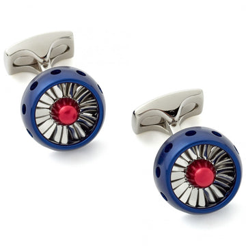 Deakin and Francis Jet Turbine Engine RAF Cufflinks