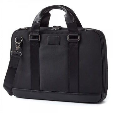 Ballistic Nylon and Leather Men's Concealed Carry Bag